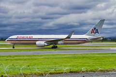 "American Airlines boeing 767-323(ER) ""N354AA"" (alex kerr photography) Tags: boeing 767300 americanairlines egcc manchesterairport planespotter passengerplane jet"