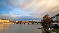 226 sec over the river (Petr Horak) Tags: bohemia capital cloudy cze czechrepublic czechia europe fuji fujifilm landscape longexposure city outdoor outdoors river bridge vltava