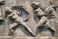 London 2018 – British Museum – When women attack men (Michiel2005) Tags: amazonfrieze bm britishmuseum fries amazones amazone frieze england engeland grootbrittannië greatbritain britain uk vk unitedkingdom verenigdkoninkrijk london londen