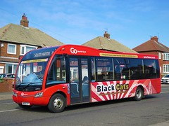 Go North East 690 (NK66CXF) - 31-03-19 (peter_b2008) Tags: goaheadgroup gonortheast gonorthern blackcats optare solosr 690 nk66cxf buses coaches transport buspictures