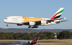 A6-EOE Emirates Airbus A380-861 (johnedmond) Tags: perth ypph westernaustralia emirates a380 speciallivery australia aircraft aviation aeroplane airplane airbus plane canon ef100400mmf4556lisiiusm eos7d
