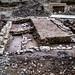 Ausgrabungsstätte unweit von Festung Golubac, Serbien