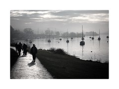Views of Windermere (adamjbarlow) Tags: windermere lakedistrict lakes winter boats yachts bowness ferrynab