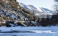 1.13.19 Creek (Alecian35) Tags: creek idaho ice water winter mountain snow