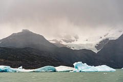 iceberg and glacier on the Lago Argentino (davidthegray) Tags: estancia patagonia lago argentina argentino cristina iceberg hielo glacier dipartimentodilagoargentino provinciadisantacruz ar