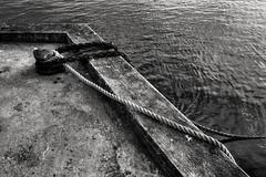Blauck (Svendborgphoto) Tags: monochrome manualfocus maritime metal marine machinery industrie nikkor nikon nikkorais nautical nikond800 bw blackandwhite 2828 aisnikkor 28mm denmark detail water decay rope