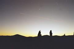 Sottile linea rossa (michele.palombi) Tags: terra vento sunset analogic film 35mm sky
