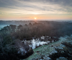 Drone Sunrise (Rob Pitt) Tags: parrot anafi drone hdr photo wirral