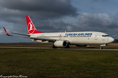 Turkish Airlines TC-JVE (U. Heinze) Tags: aircraft airlines airways airplane flugzeug planespotting plane haj hannoverlangenhagenairporthaj eddv nikon nikon28300mm d610