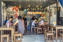 Happy Place (Beegee49) Tags: street coffee shop people filipina happy place planet sony a6000 bacolod city philippines asia happyplanet asiafavorites