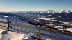alpine fence (robra shotography []O]) Tags: panorama view alps fence snow winter altoadige sudtirolo