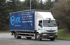 KRL LK13 BCE at Telford (Joshhowells27) Tags: lorry truck renault lk13bce curtainsider krl