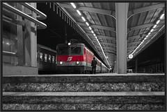 """Conductor At Südbahnhof ("""" Wiener Schule """") Tags: öbb oebb obb 1044 1144 südbahnhof sudbahnhof wien vienna austria eisenbahn railway railroad"""