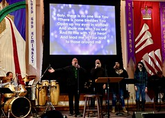 Worship Service and Annual Dinner (3-17-2019) - Musical Worship (nomad7674) Tags: 2019 20190317 march beacon hill evangelical free church efca worship service monroect monroe ct music musical praise song songs sing singing singers team choir chorus leaders