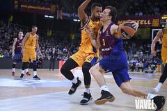 DSC_0328 (VAVEL España (www.vavel.com)) Tags: fcb barcelona barça basket baloncesto canasta palau blaugrana euroliga granca amarillo azulgrana canarias culé