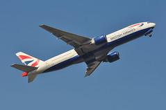 'BA43C' (BA2037) LGW-MCO (A380spotter) Tags: takeoff departure climb climbout gearinmotion gim retraction belly boeing 777 200er gviir internationalconsolidatedairlinesgroupsa iag britishairways baw ba ba43c ba2037 lgwmco runway08r 08r london gatwick egkk lgw