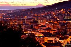 Lamezia Terme Cz Italy (Arcieri Saverio) Tags: calabria italia sud meridione lameziaterme arcieri night notte manual manuale nikon nikkor nicastro stromboli vulcano volacan
