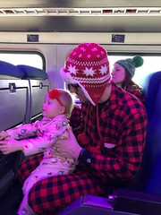 "Dani with Adam on the Polar Express • <a style=""font-size:0.8em;"" href=""http://www.flickr.com/photos/109120354@N07/45717112564/"" target=""_blank"">View on Flickr</a>"