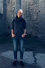 JULE, Visby ([klauspeter]) Tags: jule schweden sweden sverige gotland sommer june 2015 klauspeter iphone visby medieval town ruin church portrait
