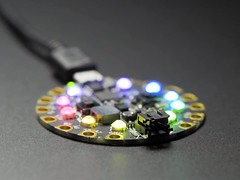 No-Foil Flat Back Rainbow Crystals for NeoPixel LEDs - 100 pack - SS16 (adafruit) Tags: 4044 accessories diyelectronics diyprojects diy electronics crystals adafruit