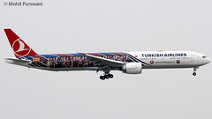 Turkish Airlines (TK/THY) / 777-3F2ER / TC-JJI / FC Barcelona / 9-22-2011 / HKG (Mohit Purswani) Tags: turkey istanbul fcbarcelona speciallivery specialscheme 777 77w 777300er 773er b777 boeing boeing777 tcjji hkg hkia clk vhhh hongkong widebody civilaviation commercialaviation planespotting aviationphotography airlines aircraft flight canon 100400 7d turkisharlines tk thy