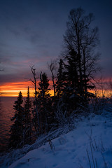 Pre Dawn on the North Shore 20190104-_DSC1004 (Prairieworks Pictures) Tags: lakesuperior northshore stateparks tettegouchestatepark snow winter sony alpha sonyalpha a7riii a7r3 zeiss loxia loxia2421