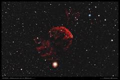 IC443 - Nébuleuse de la Méduse (Adrien Witczak) Tags: adrienwitczak astrophotographie astrophotography astronomie astronomy canon1000ddefiltre cielprofond deepspace nébuleuse méduse ic 443 ic443 ciel espace astrometrydotnet:id=nova3184537 astrometrydotnet:status=solved