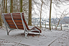 Let it snow... (Fabke.be) Tags: vlaamseardennen ronse oostvlaanderen vlaams belgië flandres flanders flickrunitedaward coth5 flickraward exposicion amazing colors canon7dii canon 7dmk2 lens camera photography canon175528 belgique erfgoed wandelwalhalla toerisme flandre snow sneeuw winter hiver white bos wood bench
