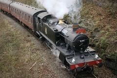 5199 Large Prairie @ Berwyn (andrewfarmer1) Tags: railway steam steamengine steamrailway train locomotive prairie llangollen llangollenrailway deevalley berwyn