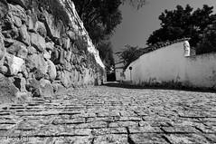 Old paving stones in Santana do Parnaíba (elcio.reis) Tags: brasil nikon street brazil blackwhite bw rua calçada pb santanadoparnaíba santanadeparnaíba sãopaulo br