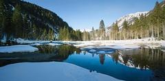 ötzlsee III (koaxial) Tags: p2146211ap2146212aa koaxial ötzlsee austria österreich water reflection nature landscape hugin pano light sun blue sky mountains snow winter february 2019 pond lake