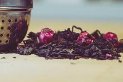 "Tea time - ""Brew"" - for Macro Mondays (Sonia gsgs) Tags: brew macromondays macro tea rooibos berries sony sonya6000 sonyalpha"