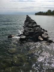IMG_5781-060618 (octoberblue13) Tags: toronto ontario canada rocks breakwall lake water