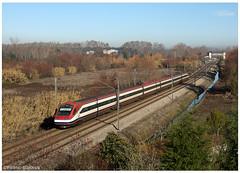 Aguim 17-12-17 (P.Soares) Tags: comboio cp comboios caminhodeferro automotora automotoras linha linhas alfapendular linhadonorte