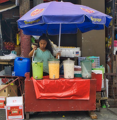 Drinks (Beegee49) Tags: drinks street seller fruit filipina happy planet luminar sony a6000 bacolod city philippines asia