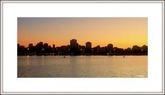 Silhueta da cidade (o.dirce) Tags: cidade pordosol sunset lagoa odirce predios