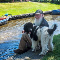 giethoorn (32 van 43) (heinstkw) Tags: boten bruggen dorp giethoorn jansklooster varen vollenhoven water