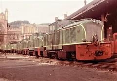 India Railways - Indian State Railways Class DZ diesel lcomotive Nr. 704 (785 mm gauge) (Arnold Jung Locomotive Works 1955) (HISTORICAL RAILWAY IMAGES) Tags: locomotive railways jung diesel train eisenbahn india indien ndm1