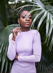 Kendal (Calvin J.) Tags: model fashion flowers canon 5dmarkiii naturallight ambientlight availablelight bokeh portrait primelens bokehlicious lavender ef35mmf14l franklinparkconservatory columbus ohio editorial captureone liberian liberia