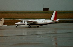 F-BXAS (IndiaEcho) Tags: fbxas commander 690 east midlands egnx ema aircraft aeroplane aviation airport airfield