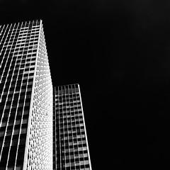 Skyscraper No79 (Joseph Pearson Images) Tags: building architecture abstract london eustontower regentsplace square blackandwhite mono bw skyscraper modernist