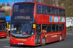 6101, SN15 LFJ (West Midlands Buses) Tags: nxwm 6101 pensnett birmingham dudley 126 bus buses transport wm westmidlands west midlands nx station journey crimson new adl dennis alexander mmc e400mmc enviro 400 transbus 2015 2019 photography photograph blackcountry theblackcountry sandwelldudley