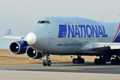 N952CA National Airlines Boeing 747-400(F) (czerwonyr) Tags: n952ca national airlines boeing 747400f hhn edfh