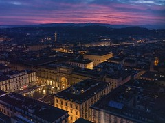 Sunset over Florence (Sun Child) Tags: florence firenze italy tuscany sunset hasselblad x1d magicmoment