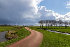 Dark clouds (jan.vd.wolf) Tags: cloud clouds eempolder landschap landscpape polder thenetherlands wolken eemnes utrecht nederland nl