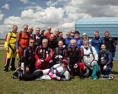 Annemarie's 4000th skydive (tatlmt) Tags: hammond skydiving skydive zhills zephyrhills skydivecity 4000 annemarie