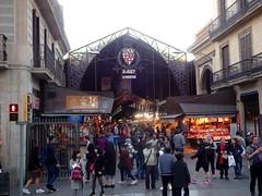 barcelona_3_166 (OurTravelPics.com) Tags: barcelona front mercado de la boqueria market rambla street