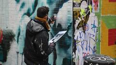 Street Art in London (claude 22) Tags: graffitilife london londres uk graffiti spray paint shoreditch eastlondon england angleterre street art aero graffeur painting claude22 arteenlacalle pinturaenlasparades streetart urbanart vividcolor graff urban arte