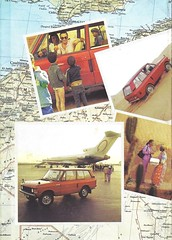 Range Rover brochure in French (Hugo-90) Tags: land rover range car auto suv luxury automobile ads advertising brochure catalog imprime drucksache