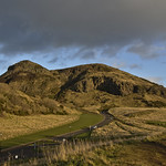 Arthur's Seat on a sunny winter afternoon